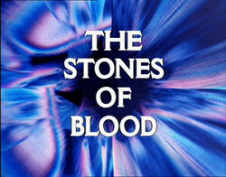 """October 28, 1978: Doctor Who in """"The Stones ofBlood"""""""