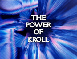 "December 30, 1978: Doctor Who in ""The Power of Kroll"""