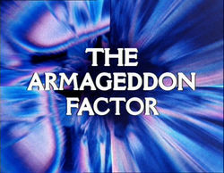 """January 20, 1979: Doctor Who in """"The ArmageddonFactor"""""""