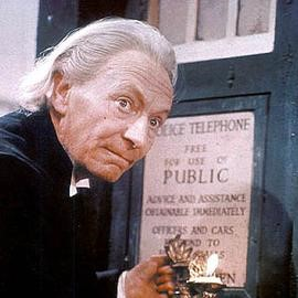 William Hartnell as the First Doctor (1963-1966)