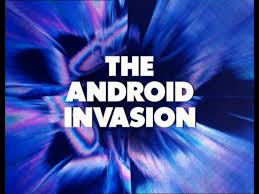 """December 6, 1975 at 5.45pm on BBC1: Doctor Who – """"The Android Invasion"""" Part3"""